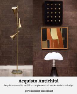 Acquisto e vendita mobili e complementi di modernariato e design