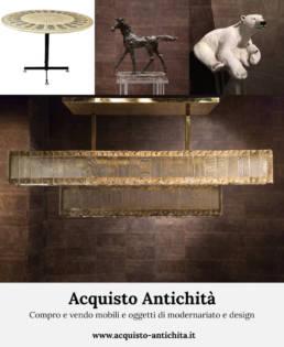 Compro e vendo mobili e oggetti di modernariato e design